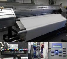 Roland CJ 850 Digital Pigment Printer