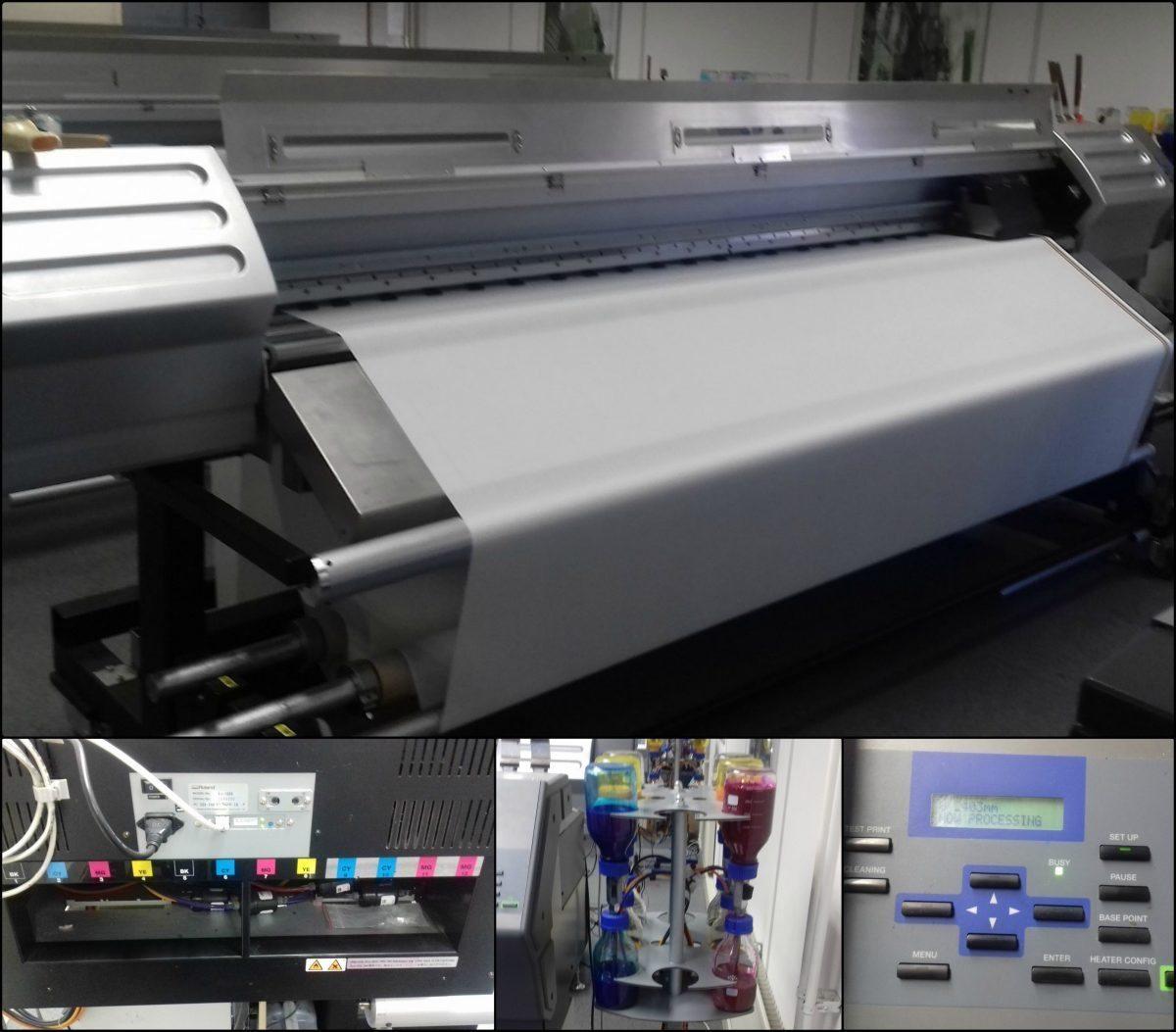 Roland CJ 850 Digital Pigment Printer - Colgraphix