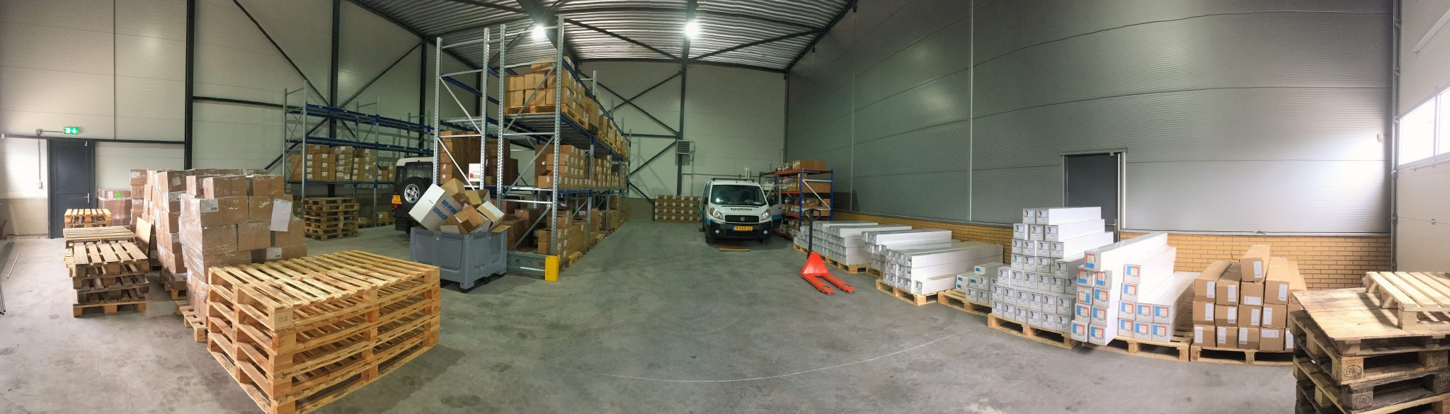 Image of the Colgraphix warehouse in Goor, the Netherlands